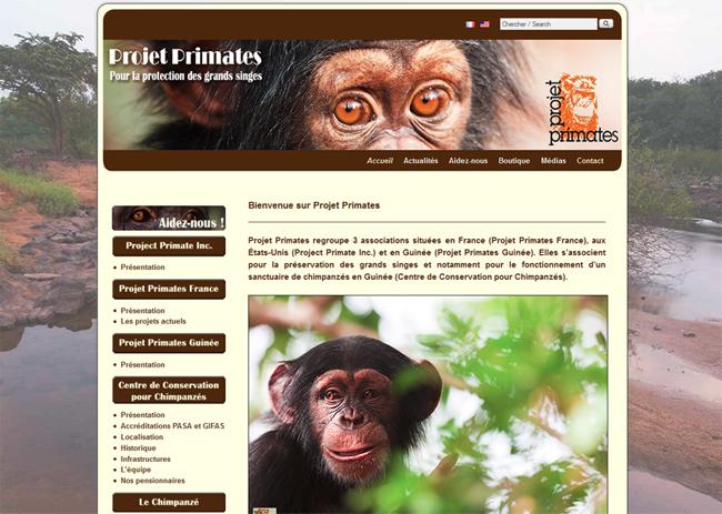 www.projetprimates.com