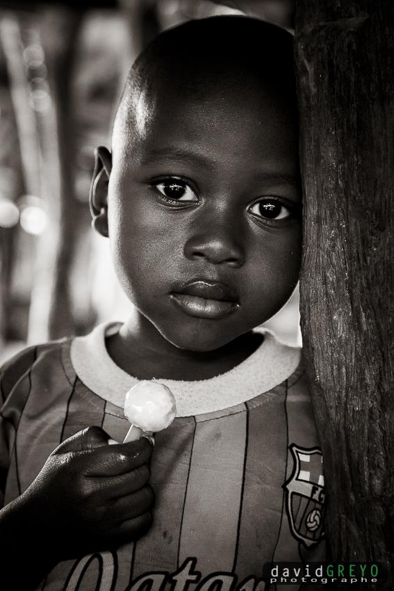 Enfant en Guinée
