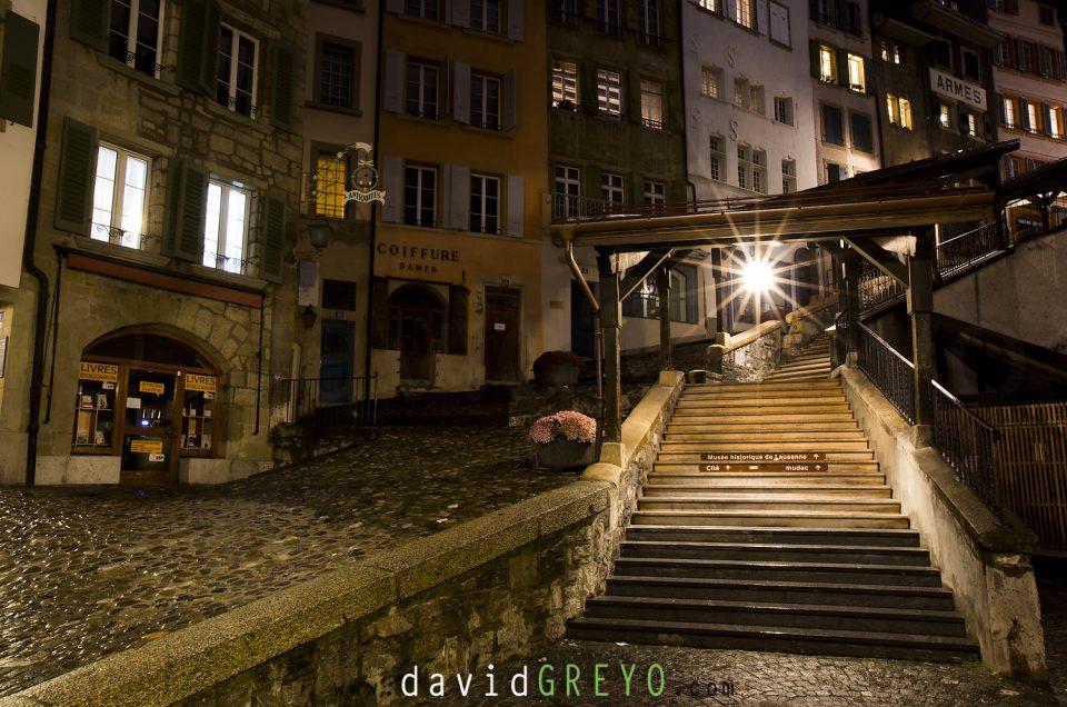 Semaine 51 : Les escaliers du marché