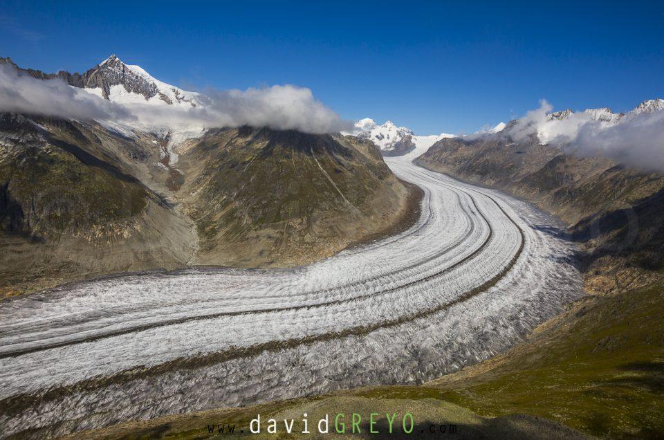 Semaine 35 : Glacier d'Aletsch