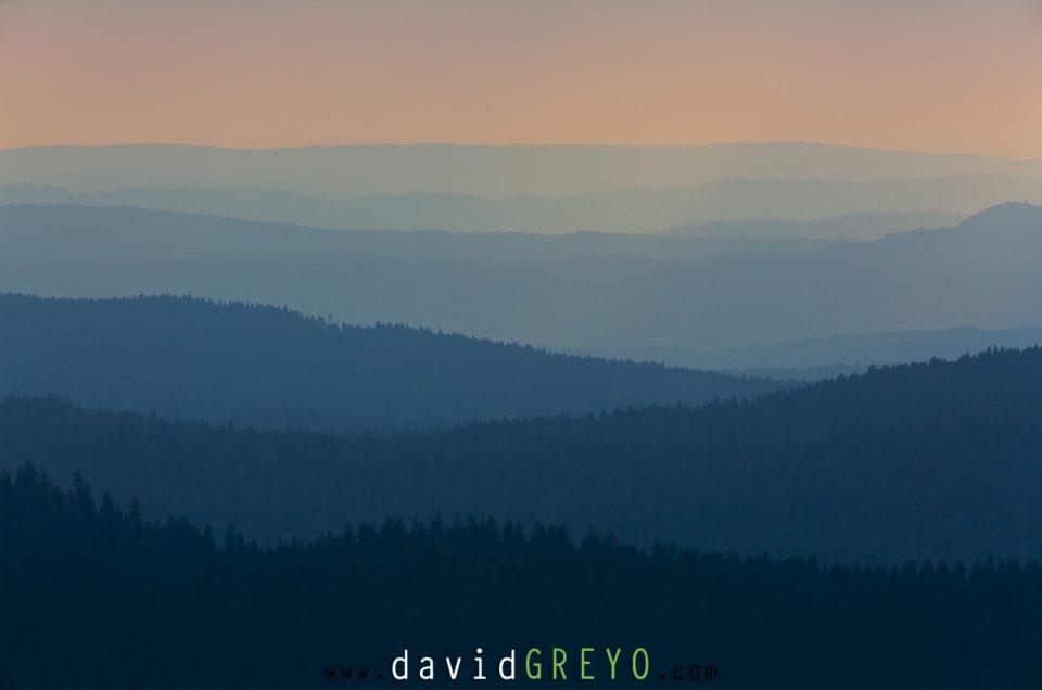 Semaine 38 : Soleil couchant sur le Jura