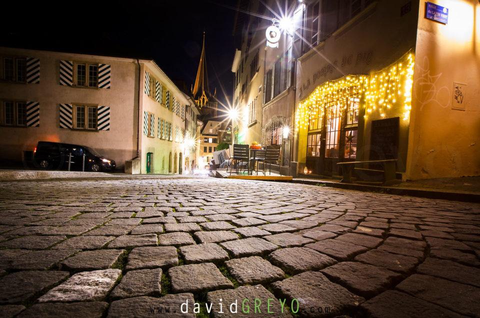 Semaine 3 : Lausanne de nuit